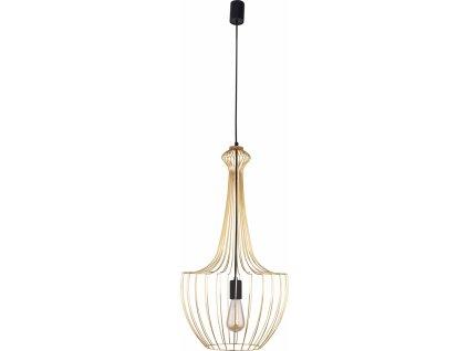 LUKSOR S | luxusná závesná lampa (Farba Zlatá)