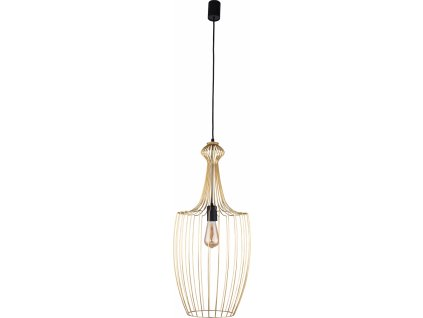 LUKSOR L | luxusná závesná lampa (Farba Zlatá)