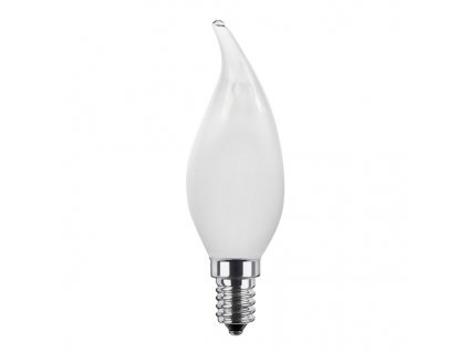 segula 50343 e14 vintage line 35w 2600k dimmable e14 frosted candle flame led lamp 1 large