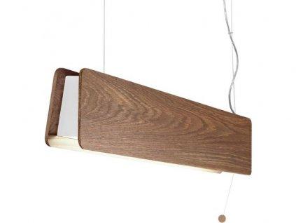 OSLO 60 | drevené závesné svietidlo (Farba Svetlý dub)
