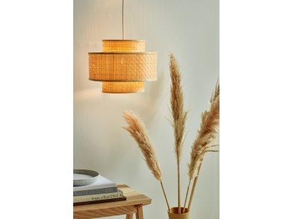 TRINIDAD | bambusová závesná lampa