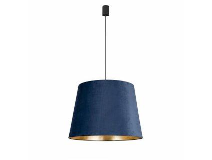 CONE L BLUE 8440 | zamatové závesné svietidlo