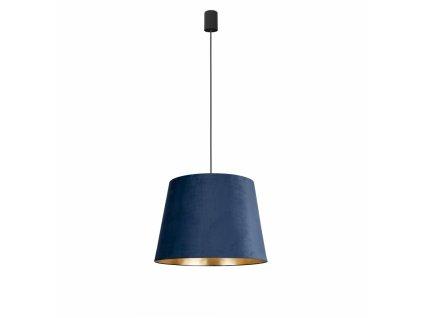 CONE M BLUE 8443 | zamatové závesné svietidlo