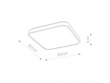 AGNES 8138 | minimalistické stropné svietidlo