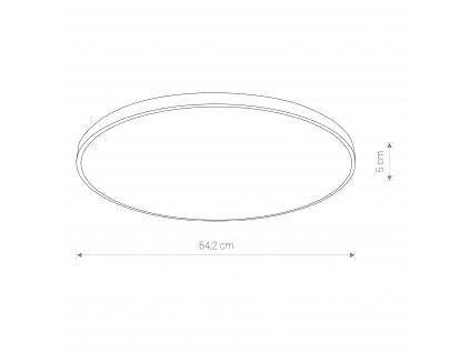 AGNES 8206 | minimalistické stropné svietidlo