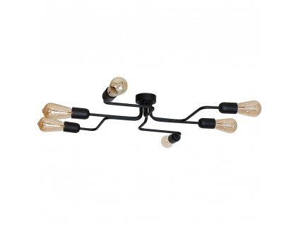 Aldex | 923K2 | ROLF | industriálna čierna stropná lampa