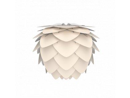 Dizajnové tienidlo Vita Aluvia biela