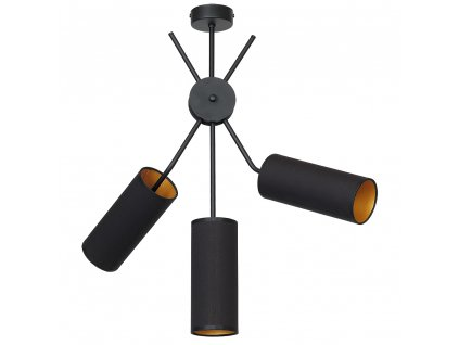 Aldex | 913E | TUTTO | čierna stropná dizajnová lampa
