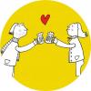 Magnetická placka - Na pivo s láskou