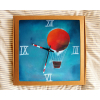 Keramické hodiny - Balón