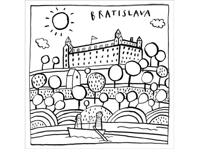 P TBR1A Bratislavský hrad w
