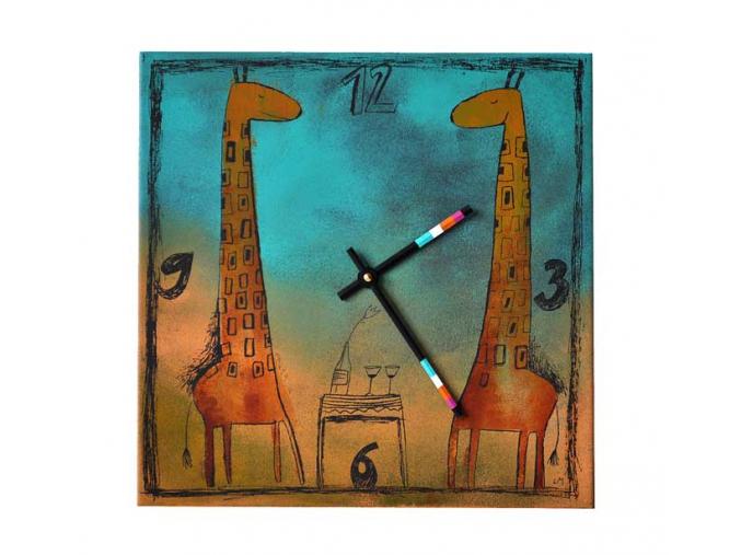 hodiny zirafy