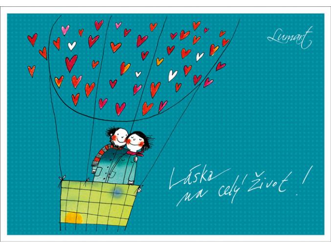 Pohled - Láska na celý život