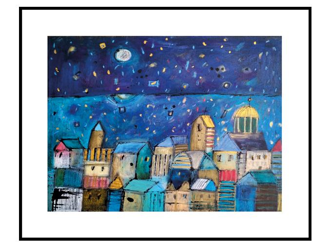 Reprodukce - Modré město