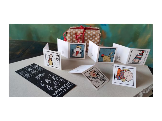 Vánoční dárkové kartičky I