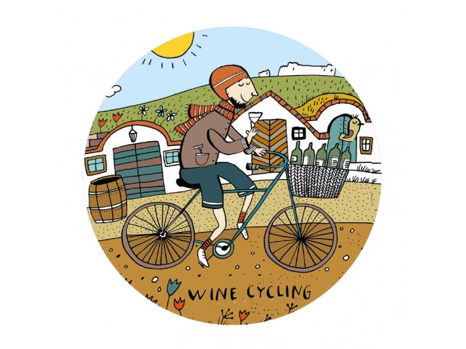 Wine cycling web