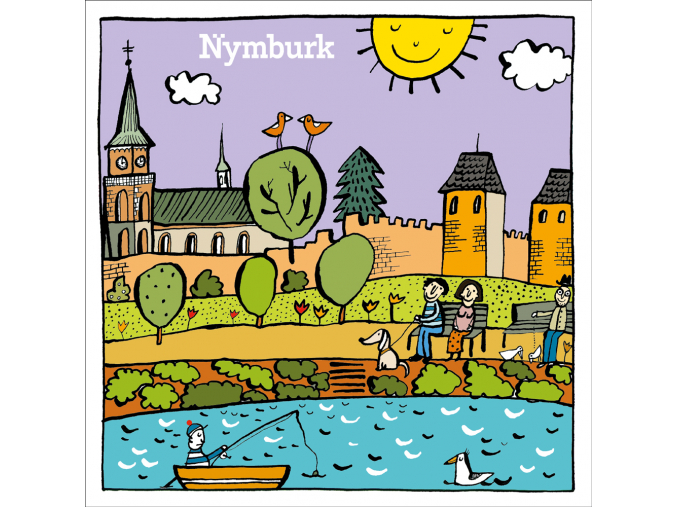 Pohled Nymburk 135mm A1