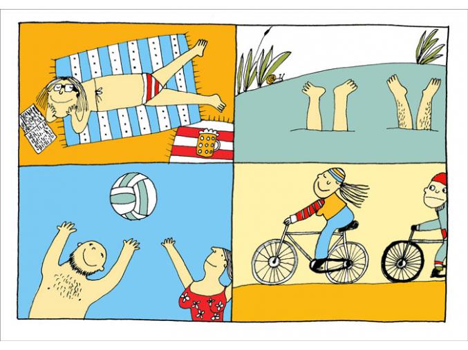 Pohled - Letní dovolená