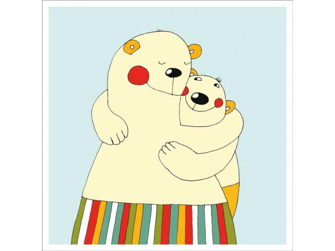 Přání - Medvědí láska