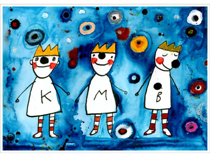 Pohled - Tři králové