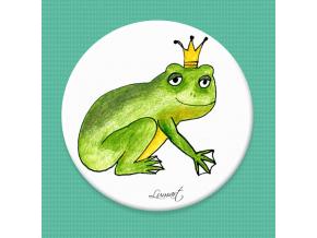 Magnetická placka - Žabí princ