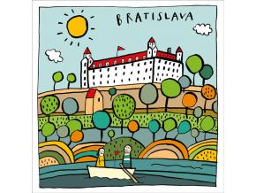 P TBR1 Bratislavský hrad we