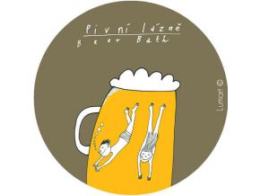 Magnetická placka - Pivní lázně