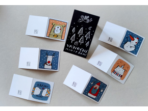 Vánoční dárkové kartičky II
