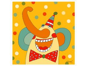 Přání - Slon elegán