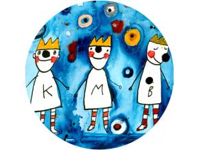 Magnetická placka - Tři králové