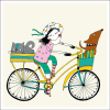 P S3 dama na kole web