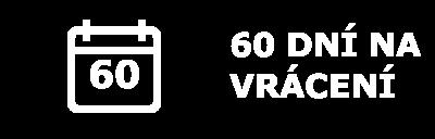 60 dnů na vrácení zboží