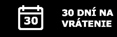 30 dní na vrátenie tovaru infografika