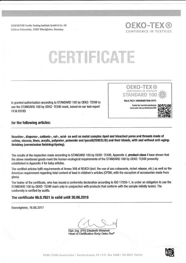 Certifikat_OEKO_TEX_100