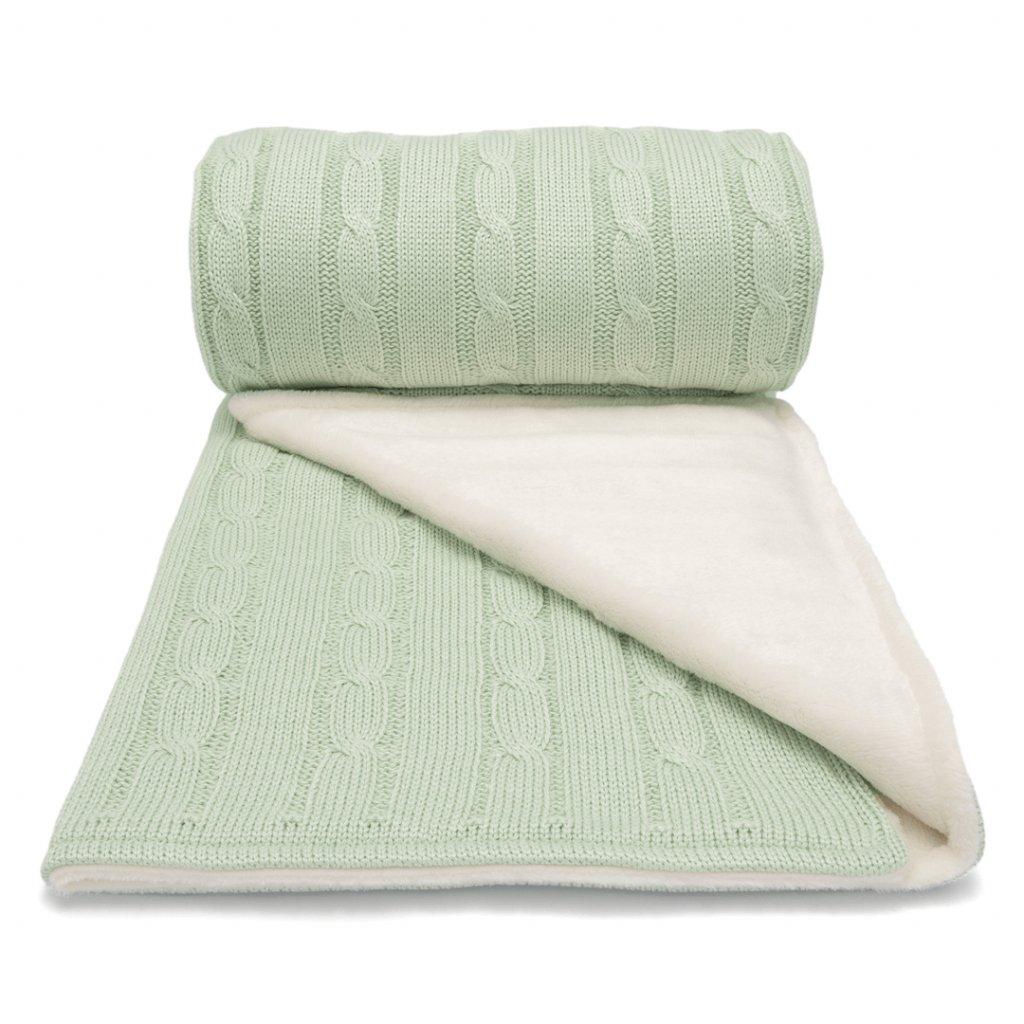 Zimná deka do kočíka zelená