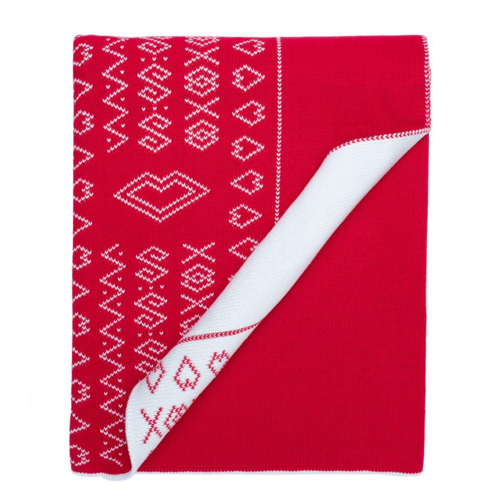 Detská deka Čičmanka - červená