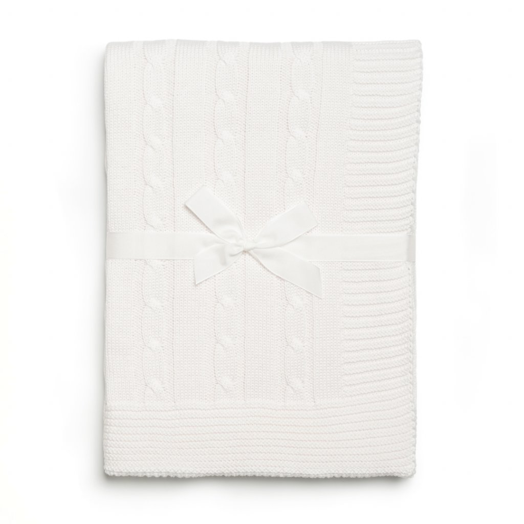 detska deka biela