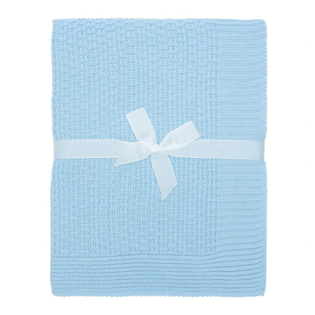 2 1 letna detska deka modra