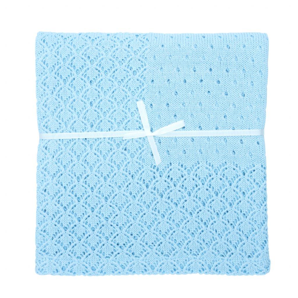 2 1 lumima modrá letná detska deka deluxe modra