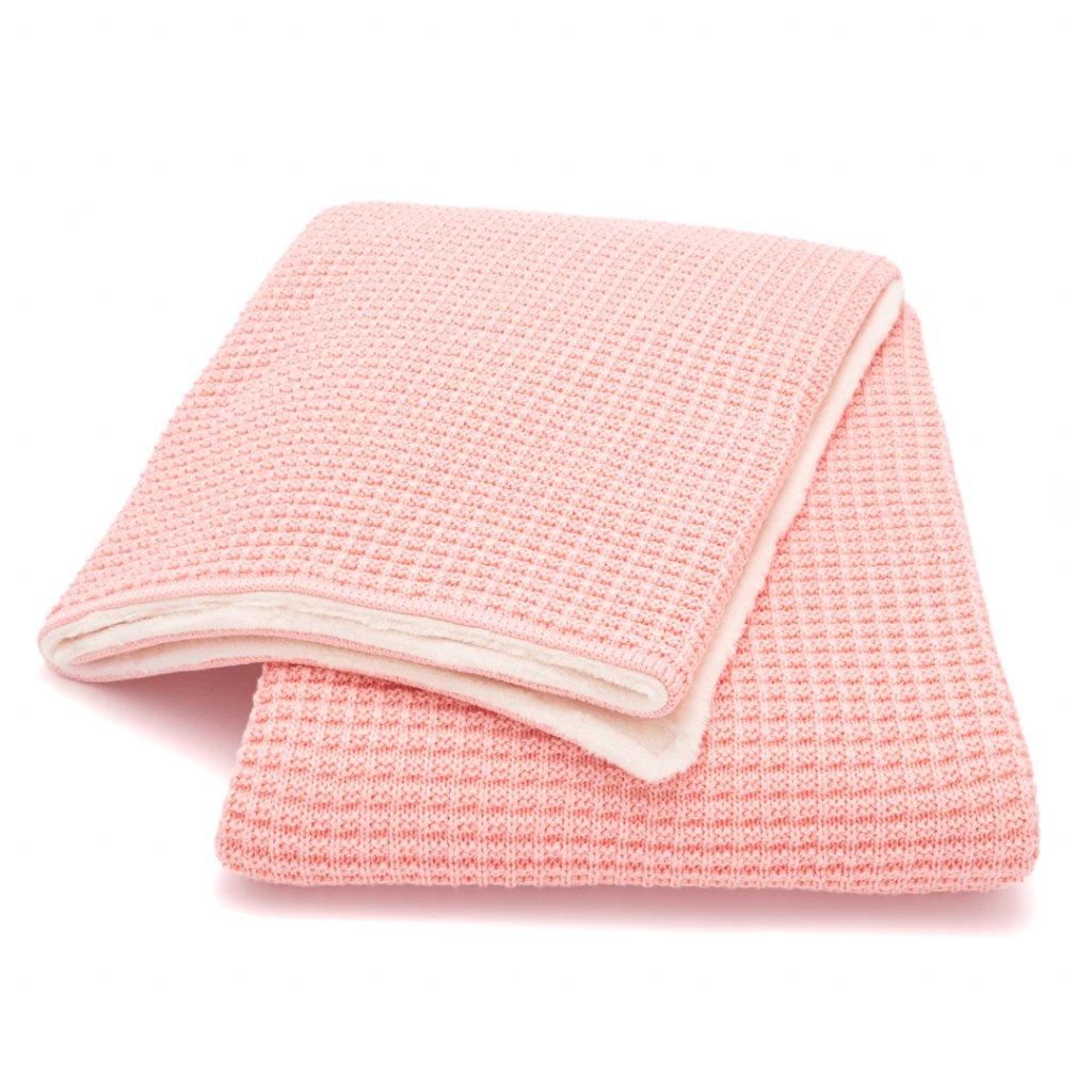 zimná detská deka marhuľová