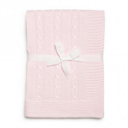 detská deka ružová