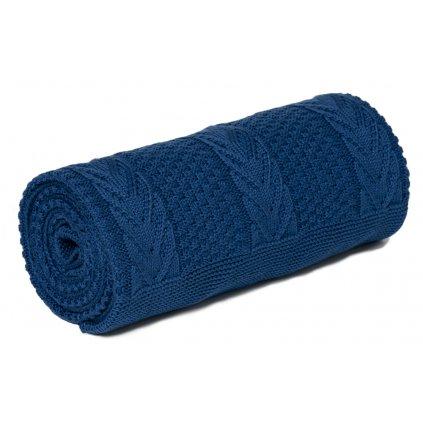 Detská deka modrá