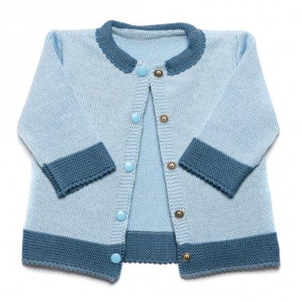 modry detsky textil