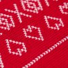 2 4 detska pletena deka cervena