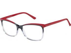 Inface 9340-802, černá,červená