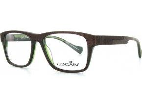 Yves Cogan 0901 (hnědá,zelená)