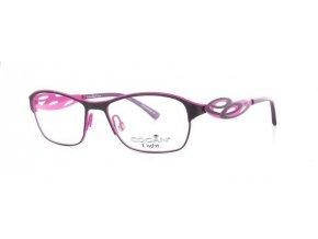 Yves Cogan 2437 (fialová,růžová)