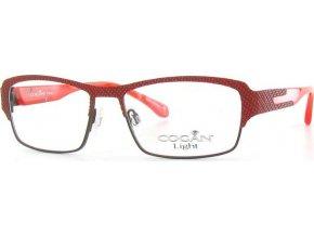 Yves Cogan 2451 (hnědá,červená)