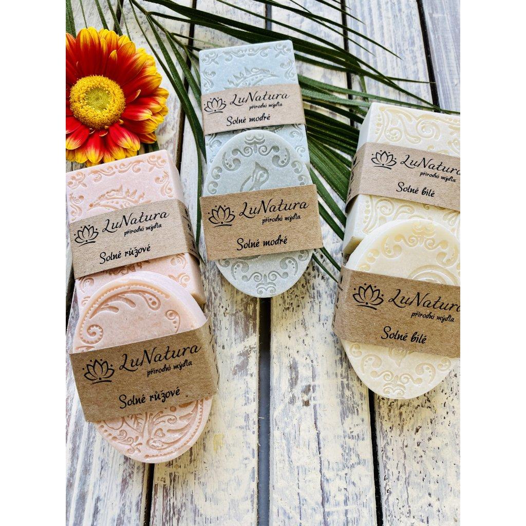 LuNatura přírodní solná mýdla