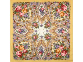 """Vlněný šátek """"Jarní úsvit"""""""